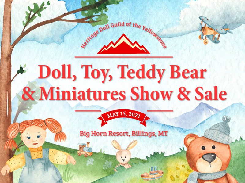 Doll, Toy, Teddy Bear & Miniatures Show & Sale
