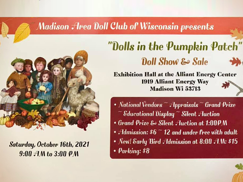 Dolls in the Pumpkin Patch – Doll Show and Sale