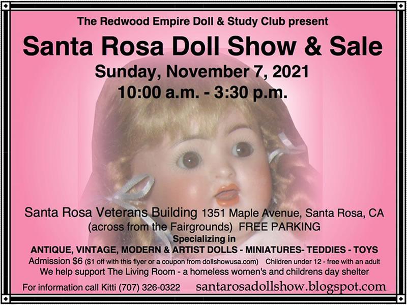 Event Santa Rosa Doll Show