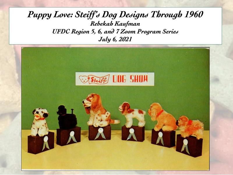 Puppy Love: Steiff's Dog Designs Through 1960