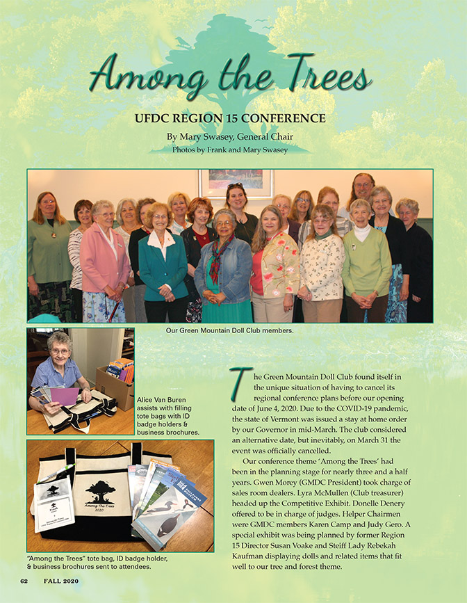 Among the Trees � UFDC Region 15 Conference