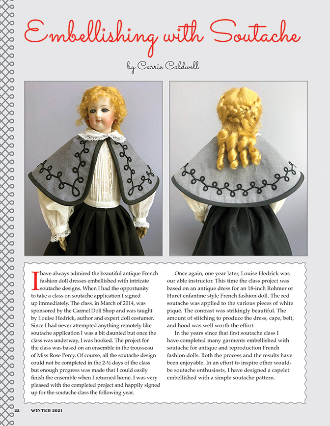 Doll News Patterns